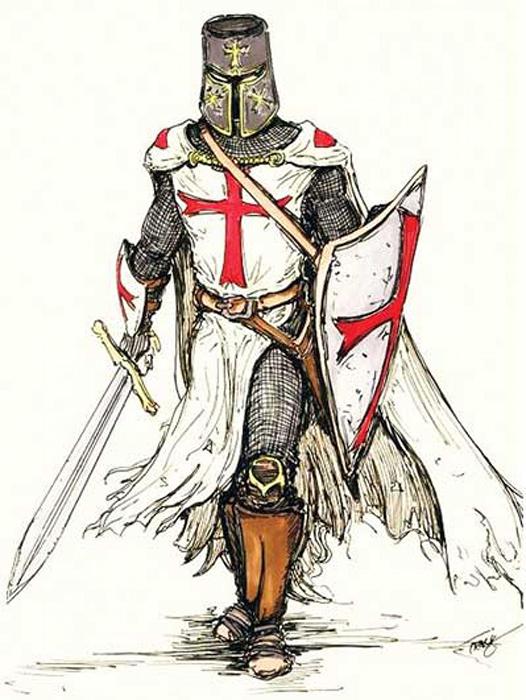 Рыцарь-тамплиер.