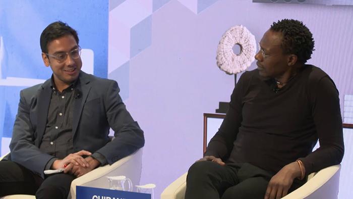 Интервью доктора Диксона Чибанды на телевидении.