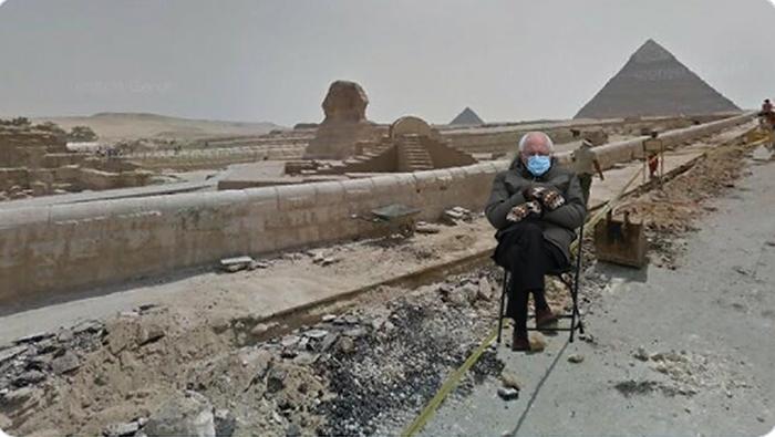 Меланхоличный сенатор оказался в Египте.