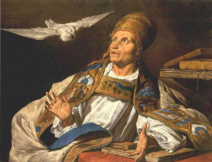 Папа Григорий I Великий.