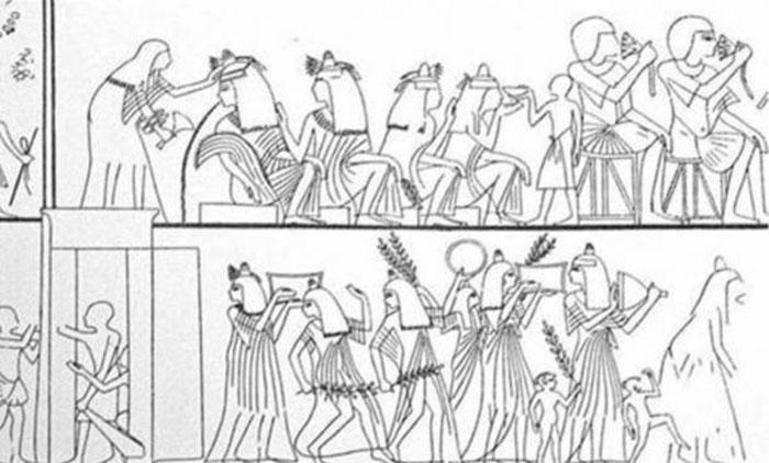Культура Древнего Египта тесно связана с их рекой Нил.