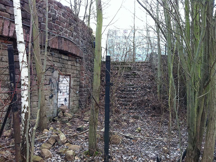 Амфитеатр в Brandberge в Галле был первым. Сейчас полностью заброшен.