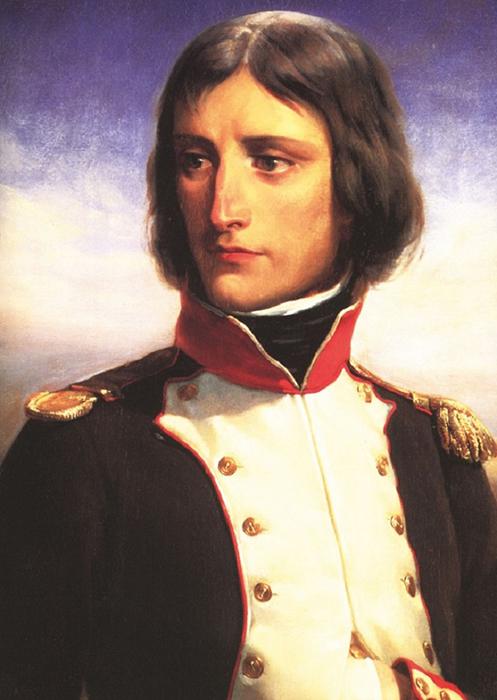 Молодой лейтенант Наполеон.