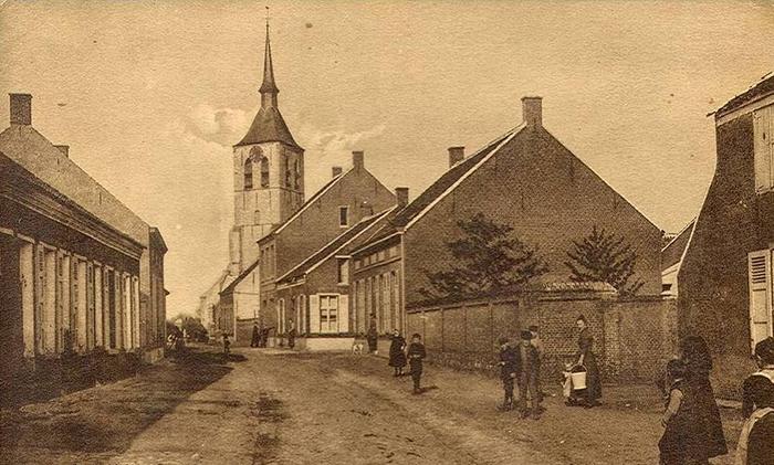 Так выглядела деревня Вилмарсдонк в 1899 году.