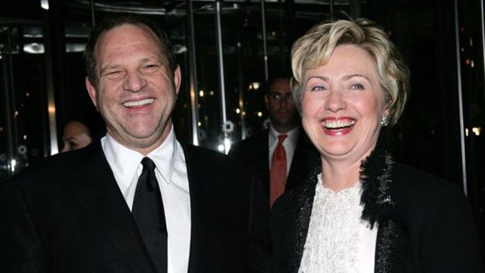 Харви Вайнштейн и Хиллари Клинтон.