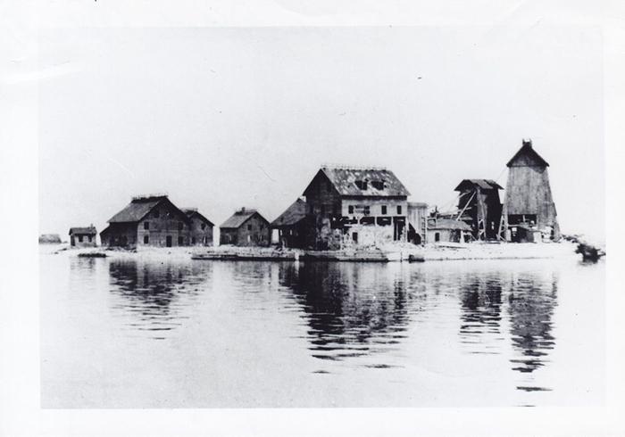 Серебряный островок в 1902 году.