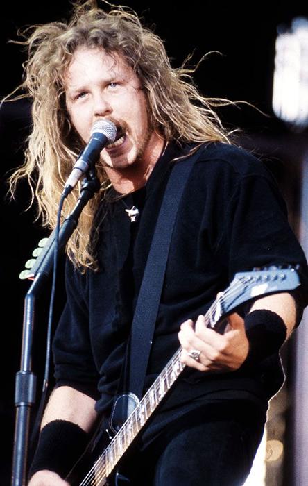 Джеймс Хетфилд из Metallica, которые оказали огромное влияние на поколения музыкантов.