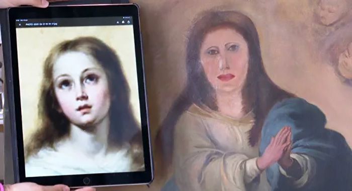 Удастся ли восстановить картину в былом великолепии?