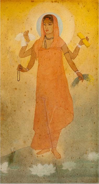 Бхарат Мата - Мать Индия.