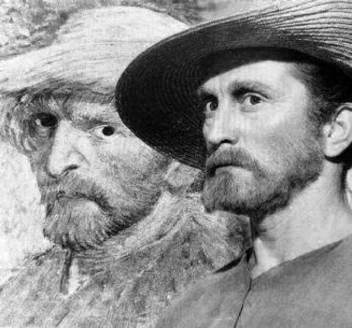 Кирк в образе Винсента Ван Гога.