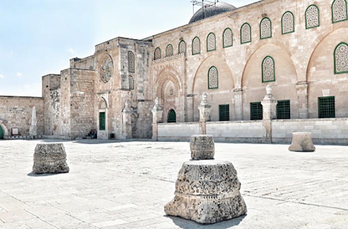 Тамплиеры в Иерусалиме.