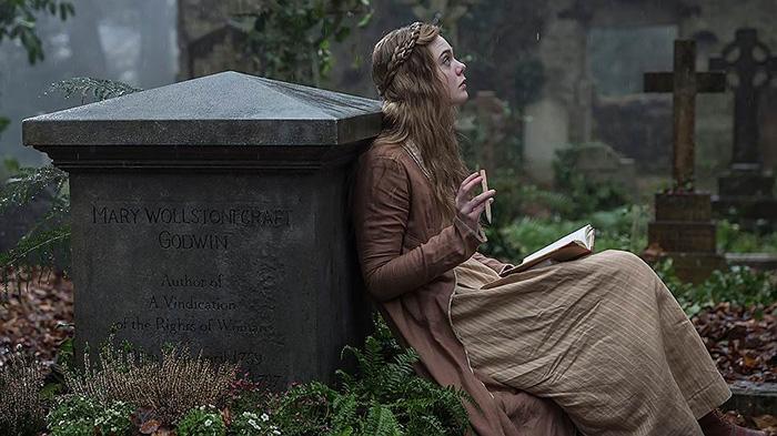 Кадр из фильма о Мэри Шелли.