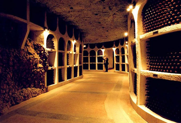 Завод шампанских вин Криково.