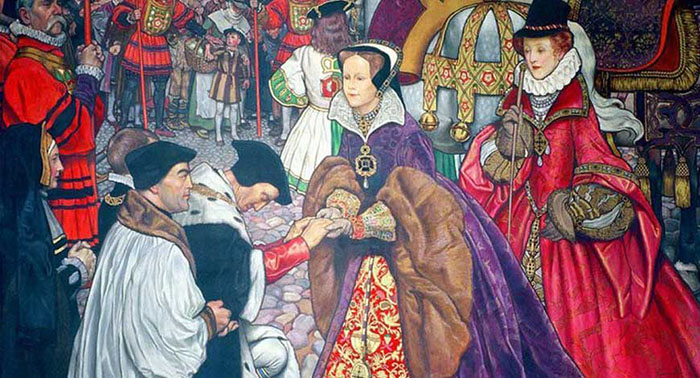Мария в отличие от её сводной сестры Елизаветы была ненавистна англичанам.