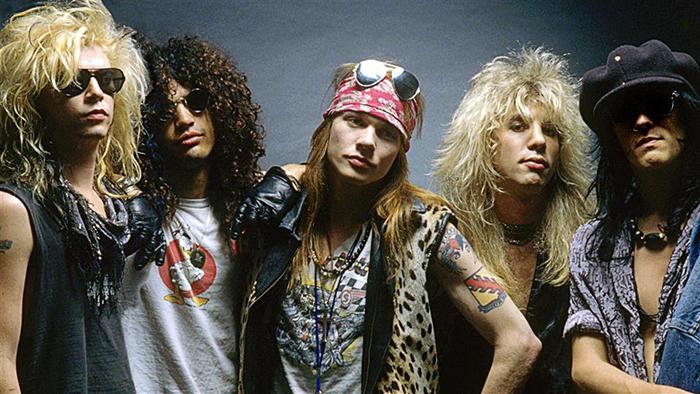 Плохиши из Guns N' Roses.