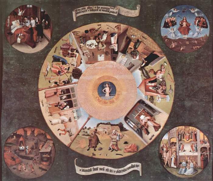 Семь смертных грехов глазами польской художницы Марты Далиг (Marta Dahlig).