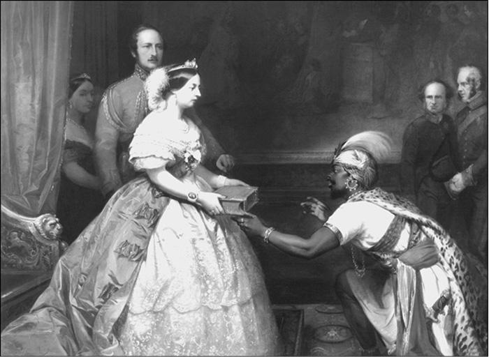 Королева Виктория носила титул императрицы Индии.