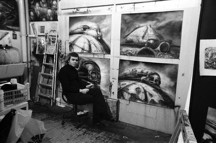 Ханс Руди Гигер и его работы для «Дюны» Ходоровски.