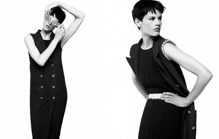 Возвращение Саскии де Брау в модельный бизнес стало триумфальным.