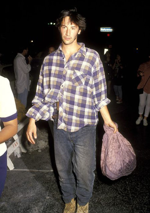 Киану Ривз,1992 год.