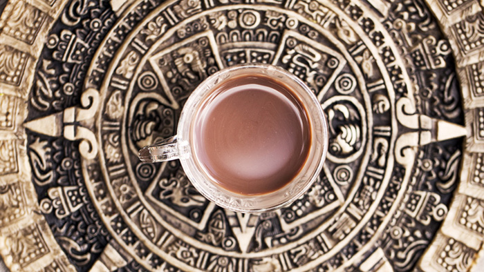 Напиток майя какао.
