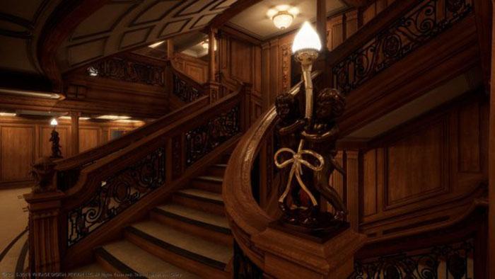 Благодаря создателям игры теперь любой может иметь уникальную возможность прогуляться по роскошным помещениям судна.