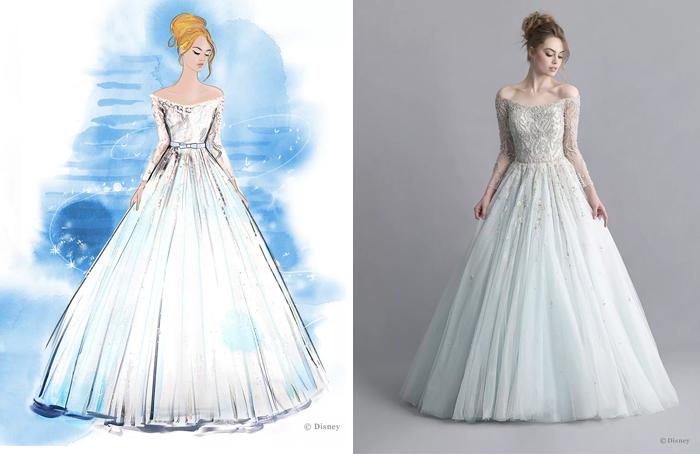 Свадебное платье Золушки.