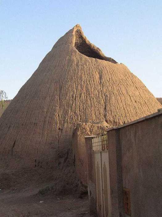 Ледяной дом в Кашане.