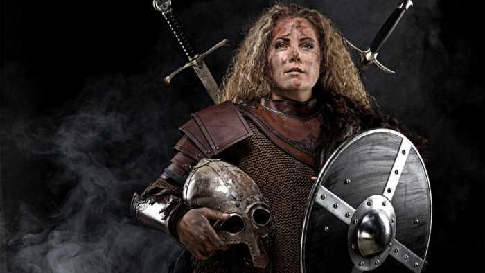Женщина-воин.