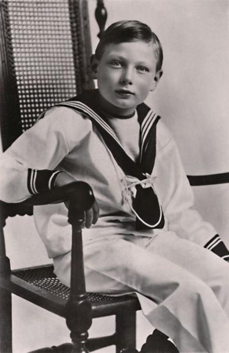 Его Королевское Высочество принц Джон, 1919 год.