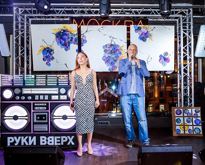 Благотворительная выставка Юлии Мамонтовой «Медовый спас» совместно с фондом Гоши Куценко.