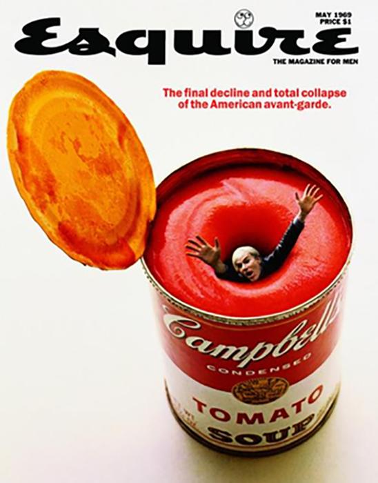 Та самая обложка журналаEsquire.