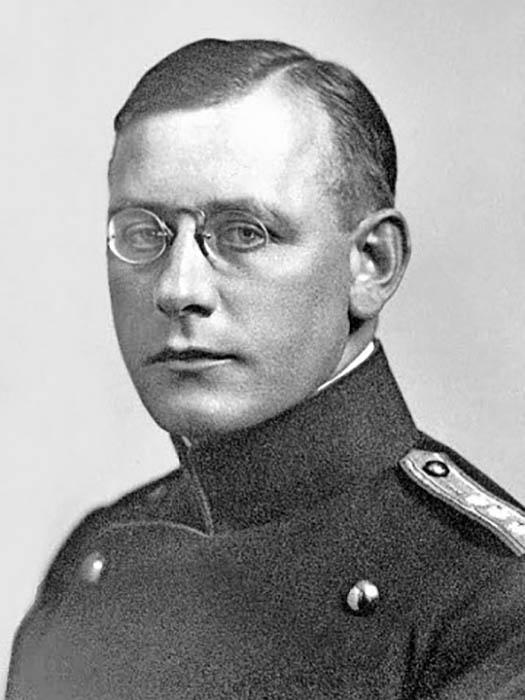 Капитан Пауль Грюнингер.