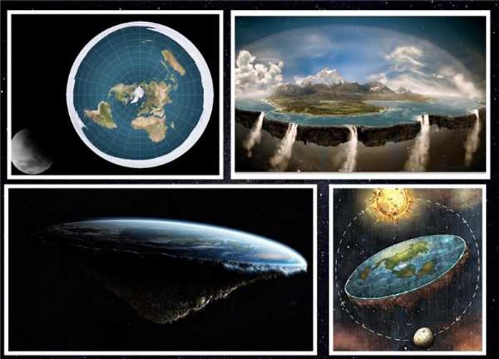 Многие люди на нашей планете уверены, что она на самом деле плоская.