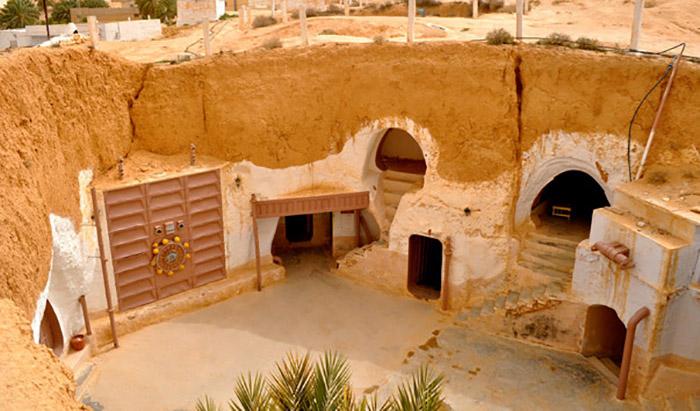 Подземный город служит отличной защитой как от летней жары, так и от холодных зимних ветров.
