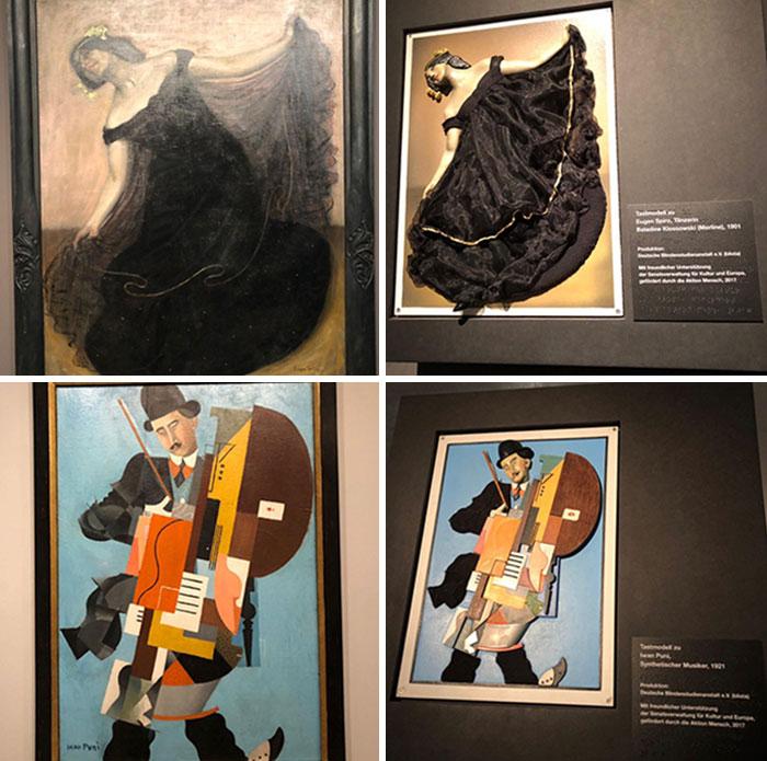 В этом музее в Берлине есть «осязаемые» версии их картин для слепых.