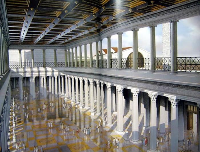 Это была самая известная библиотека Римской империи в своё время.