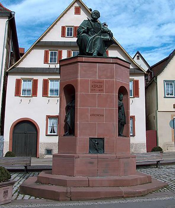 Памятник Иоганну Кеплеру.