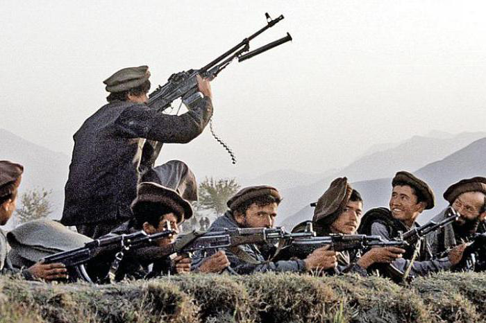 Моджахеды, начало 1980-х.