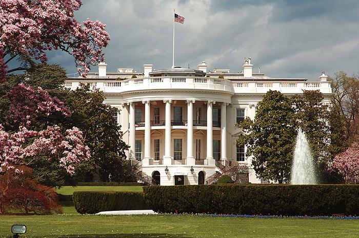 Белый дом, Вашингтон.