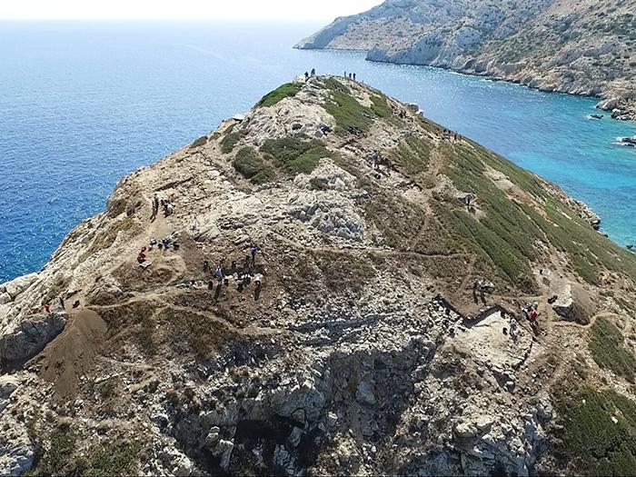 Учёные называют Даскалио самым древним морским святилищем в мире.