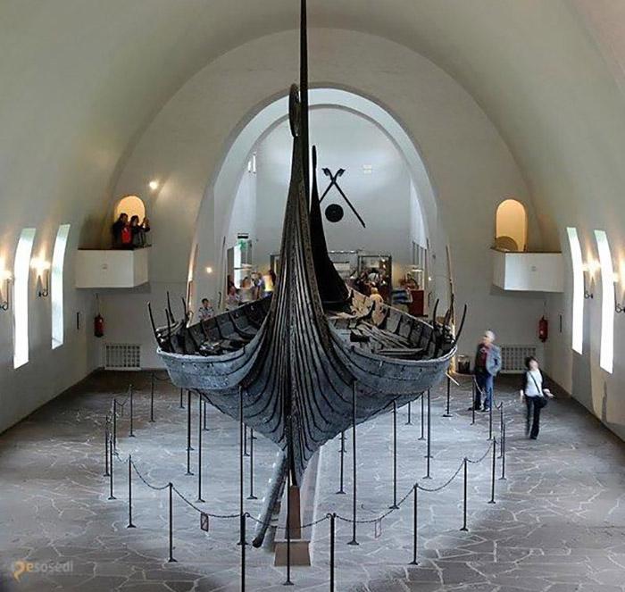 Корабль викингов Осеберг, Музей кораблей викингов.