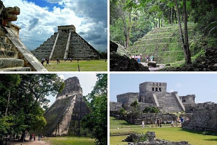 Города майя были великолепными образцами архитектурного совершенства.
