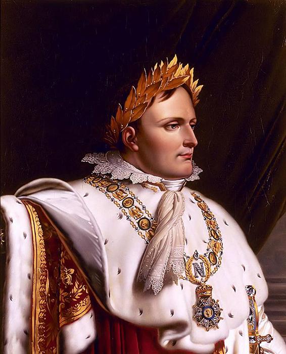 Мальчик преклонялся перед своим великим дядей Наполеоном Бонапартом.