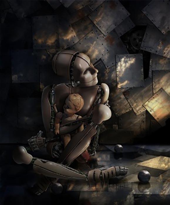 Сюрреалистические картины часто приходят к Валерии во сне, они похожи на яркую вспышку в сознании.