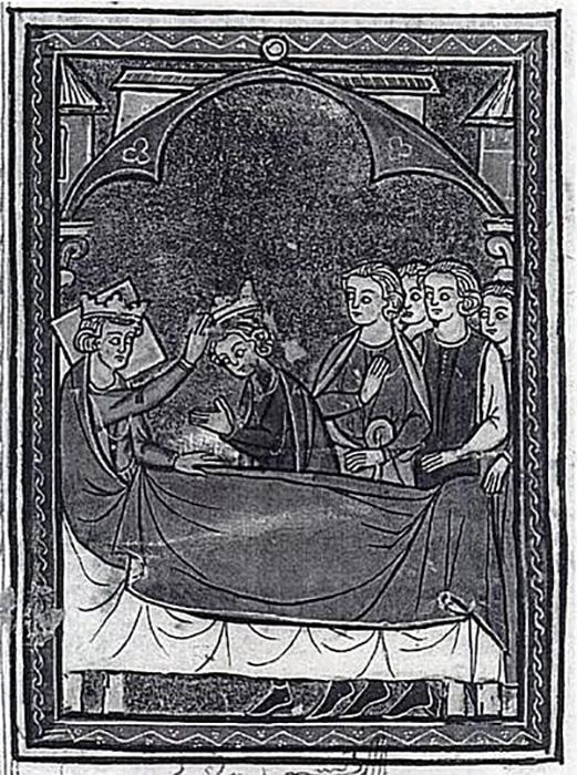 Балдуин IV Иерусалимский.