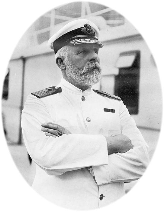 Капитан «Титаника» Эдвард Джон Смит.