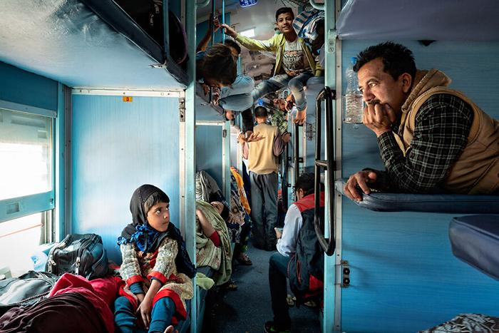 «Поезд в Джайпур» - Индия.
