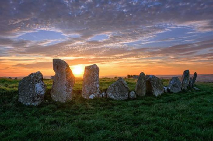 Кельтский каменный круг.