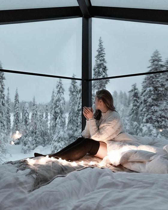 Лапландия, Финляндия.